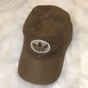 Adidas Trefoil Logo Corduroy Baseball Cap